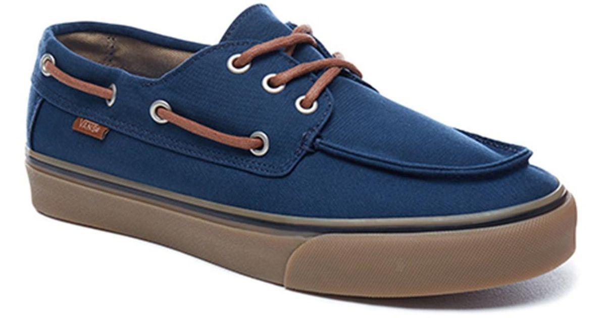 7fa379fff8cac8 Vans Ua Chauffeur Sf Deck Shoes in Blue for Men - Lyst
