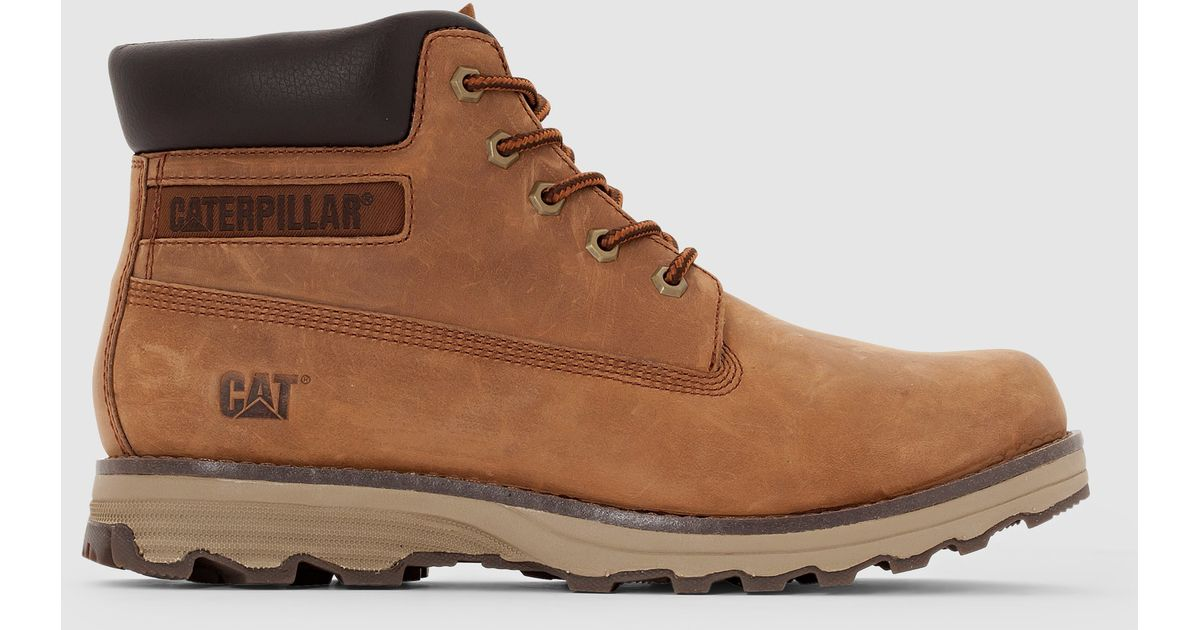 680645db5b7dd0 Lyst - Caterpillar Founder Boots in Brown for Men