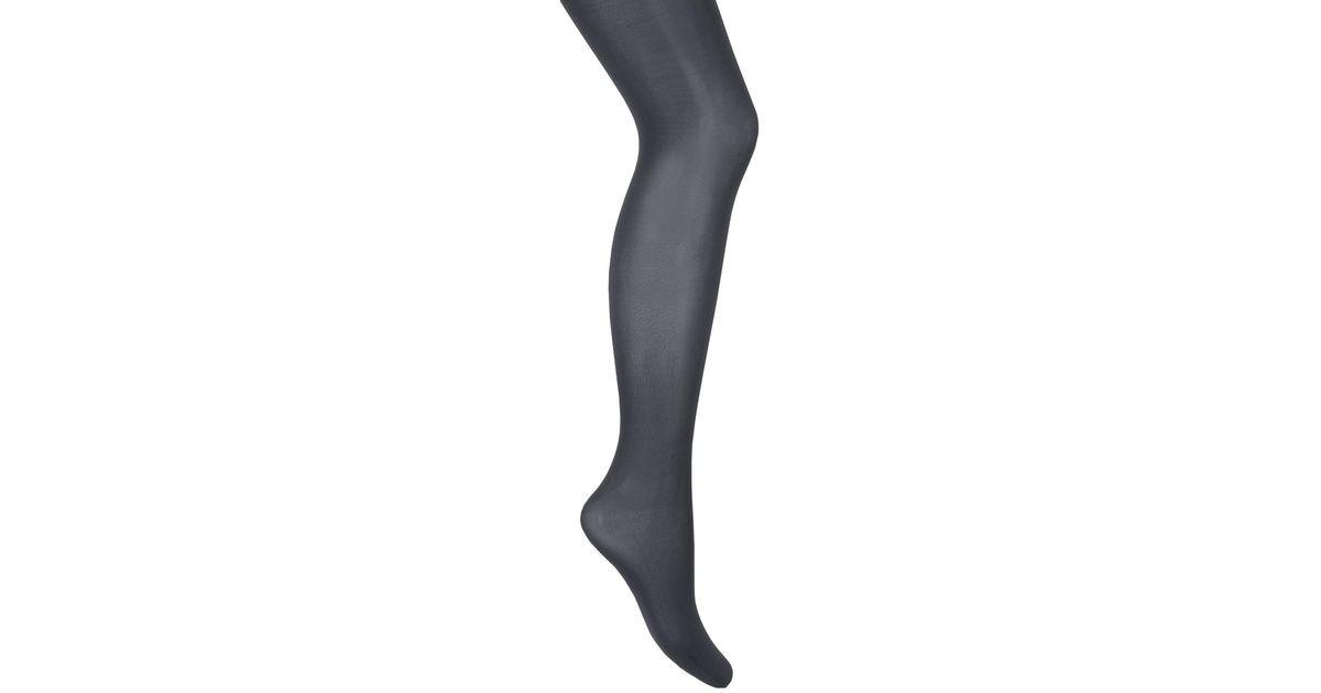 fb01edf95b239 Lyst - La Redoute Semi-opaque Microfibre Tights in Gray