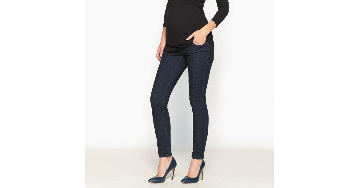 9234d336da66 Lyst - La Redoute Skinny Maternity Jeans in Blue