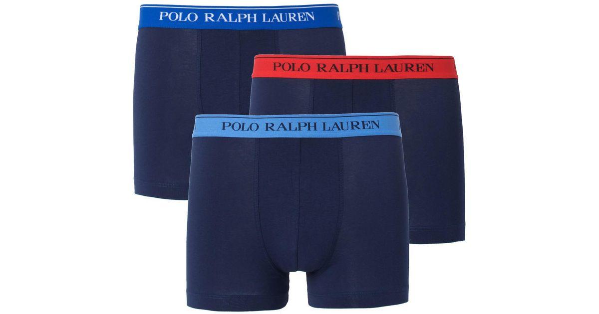 Polo Hipsters Lyst Of For Pack Lauren 3 Blue Ralph Men Plain fg6yIvmY7b