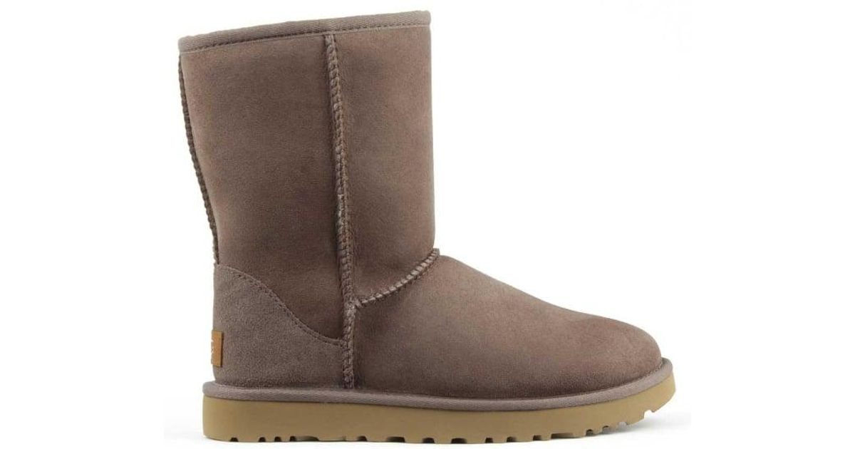 11e672b0ee7 Ugg - Gray Classic Short Ii Stormy Grey Twinface Boot - Lyst