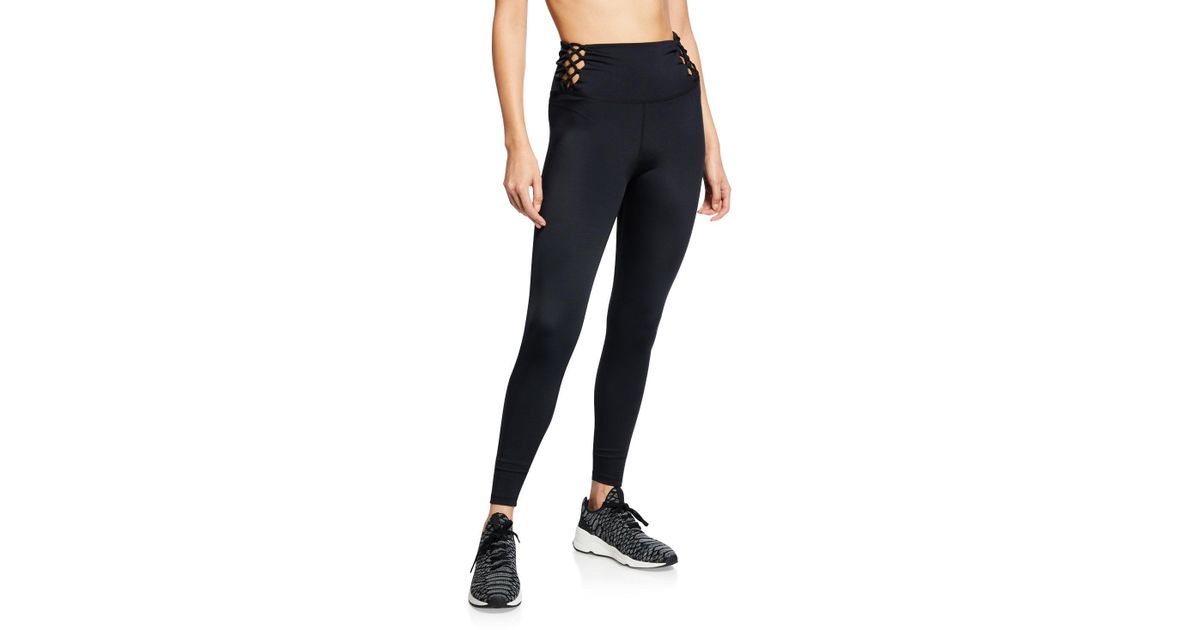 584bc4a8c9 Lyst - Beyond Yoga Learn The Ropes High-waist Leggings in Black