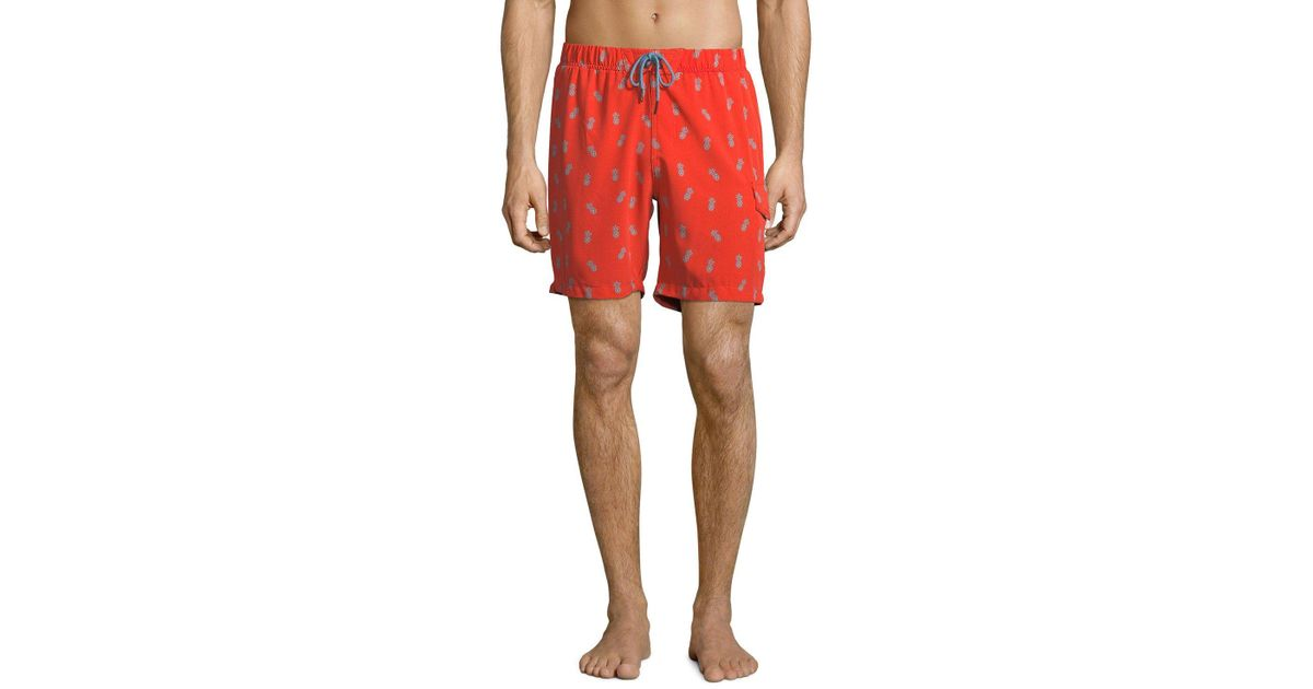 28a829c53a Lyst - Sovereign Code Men's Cannonball Swim Shorts in Red for Men