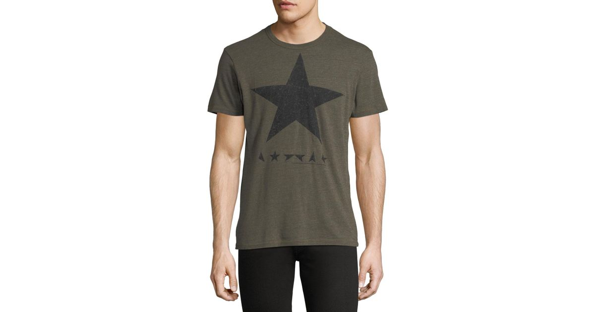 c6eab8c3 Lyst - Chaser David Bowie Blackstar Graphic Tee in Green for Men