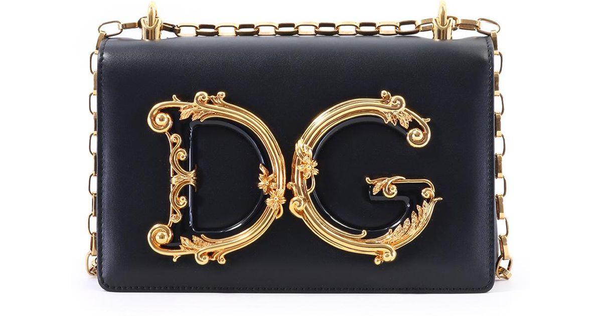 8ab317a9dd30 Lyst - Dolce   Gabbana Bag Dg Baroque Black in Black