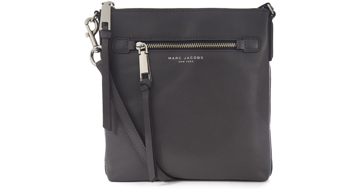 31f25ea2f7f8 Marc Jacobs Recruit North-south Crossbody Bag in Black - Lyst