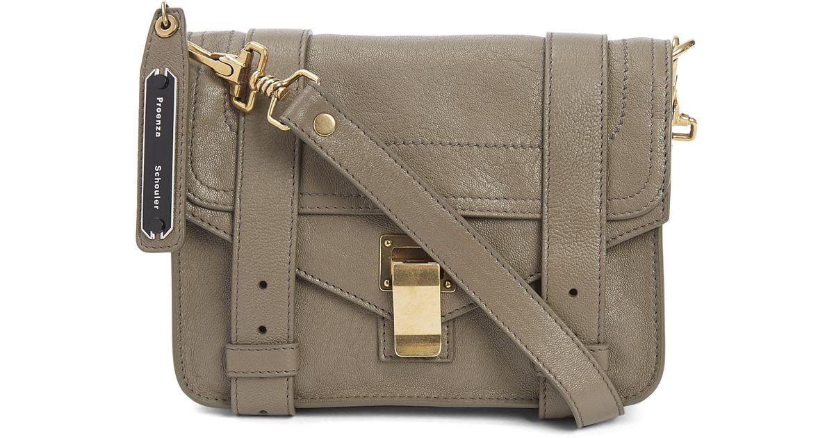 0e444626506 Proenza Schouler Ps1 Mini Crossbody Bag - Lyst