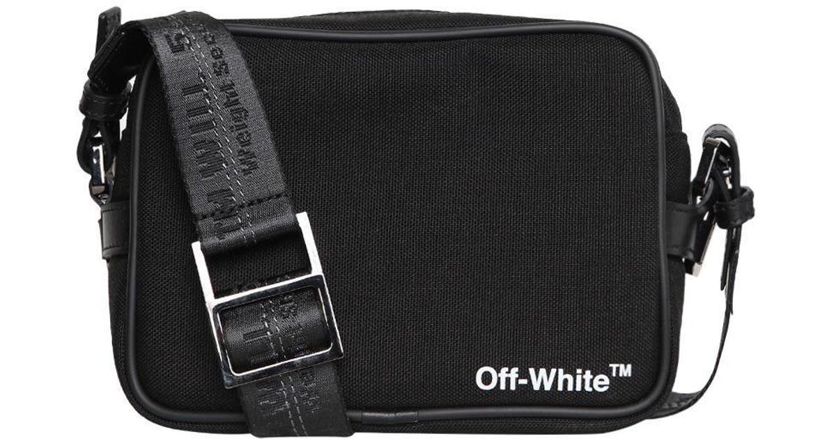 3a97e244cb Lyst - Off-White c o Virgil Abloh Cordura Camera Bag in Black