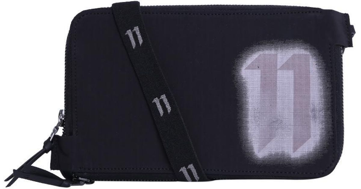 Aaa Quality Sale Online 11 BY BORIS BIDJAN SABERI Diagonal Blurred Logo Wallet Sale Shopping Online 9eEbwHlP