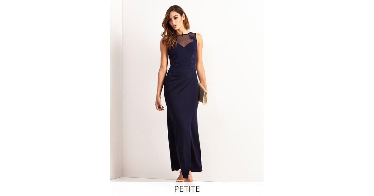 Buy Lipsy Side Placement Embroidered Maxi Dress from Next Ireland