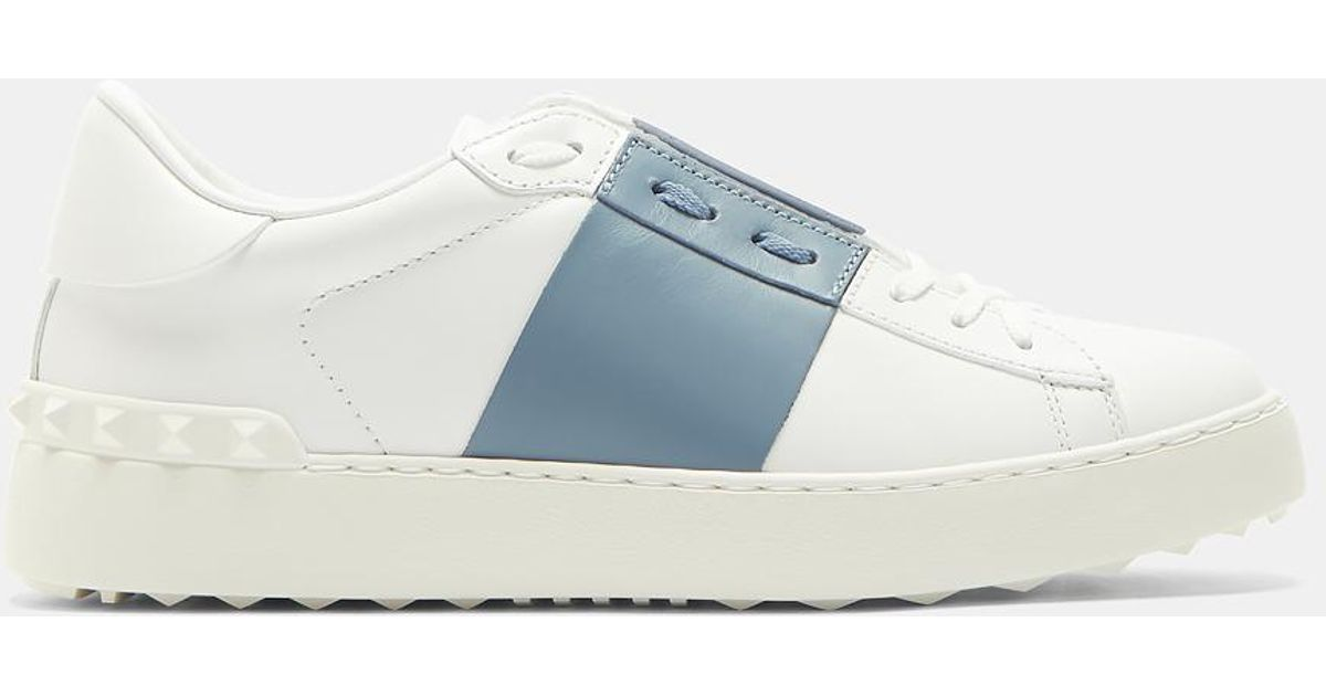 Valentino Open Contrast Panel Stud Sneakers 5ejyqYC
