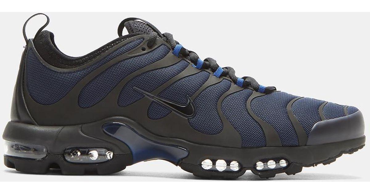 Lyst Nike Air Max Plus Tn Ultra Zapatillas En Color Y Negro Y Color Azul Marino En 30242b