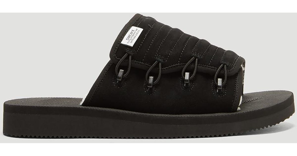 23e7e811c4da Lyst - Suicoke Mura Mab Sandals In Black in Black for Men