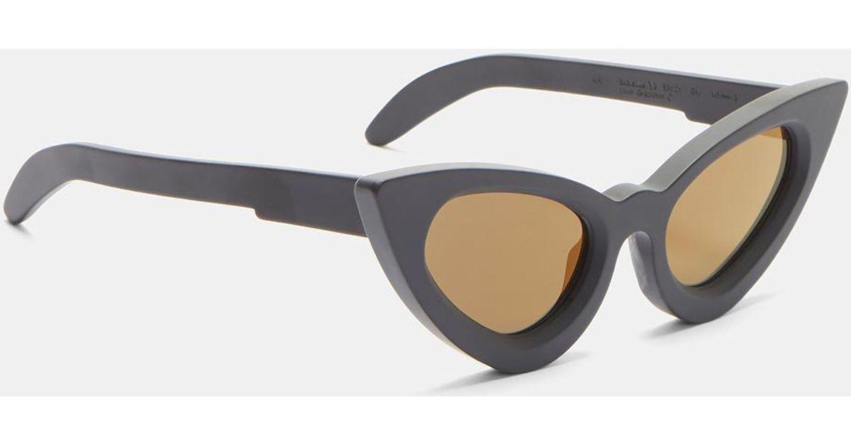 c9dee8d72f33 Kuboraum Mask Y3 Matte Cat Eye Sunglasses In Black in Black for Men - Lyst