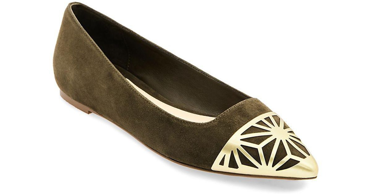 BRIAN ATWOOD Leather Flats sexQ5i