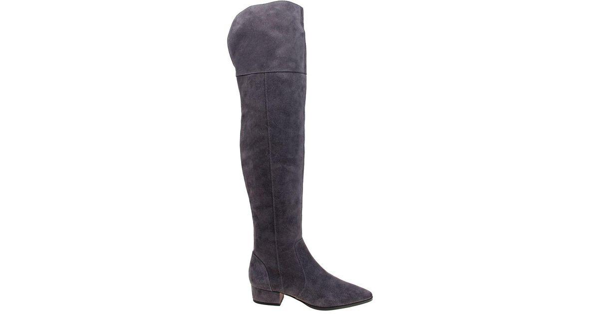 4bfcf8470c9 Lyst - Splendid Ruby Suede Knee-high Boots