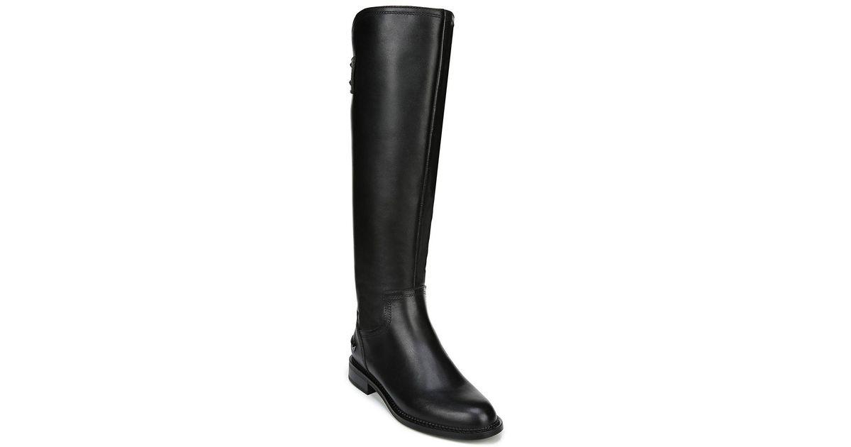 8fe42a06d93 Franco Sarto - Black Henrietta Wide Calf Riding Boot - Lyst