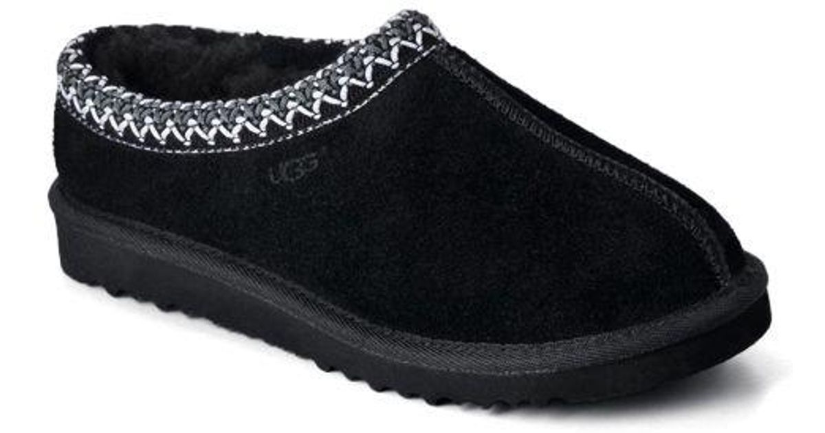 f8dc7deb0f0 Ugg - Black Ladies Tasman Slippers - Lyst