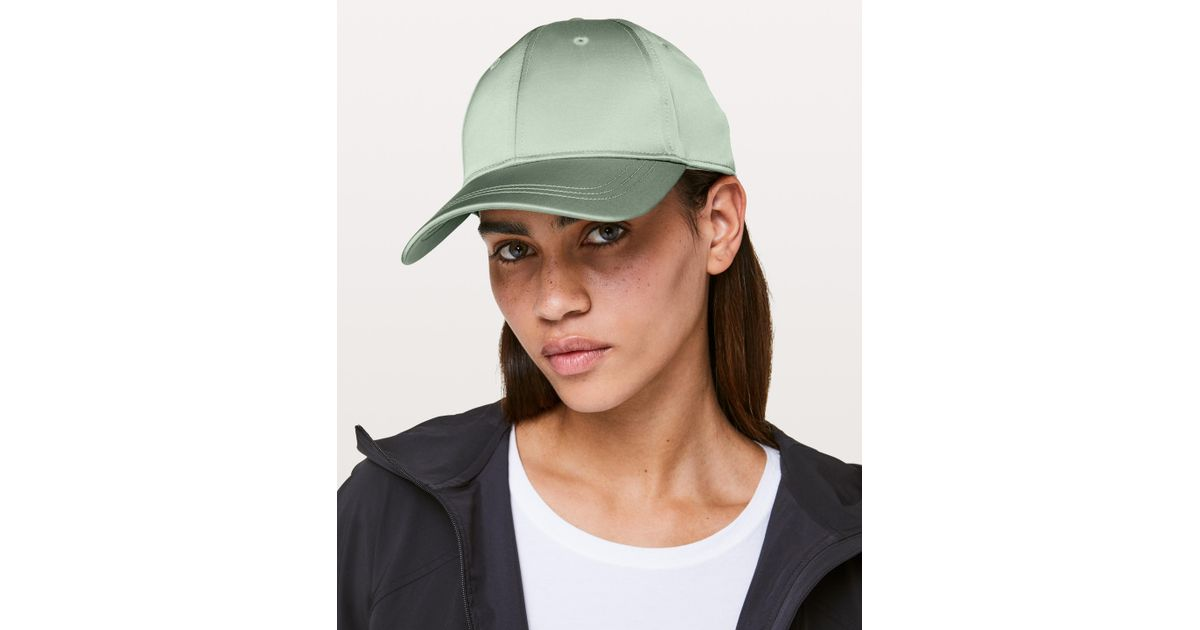 83c51d38ea7 Lyst - Lululemon Athletica Baller Hat  satin in Green