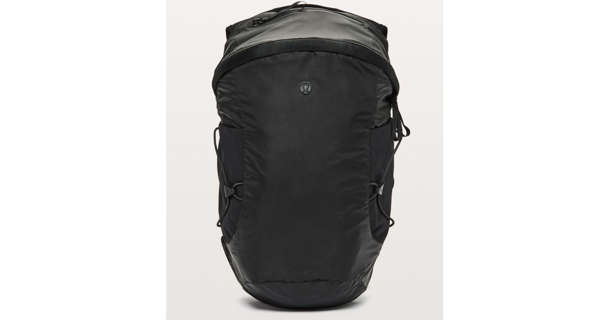 0b58f14417 Lyst - lululemon athletica Run All Day Backpack Ii  women s Fit 13l in Black