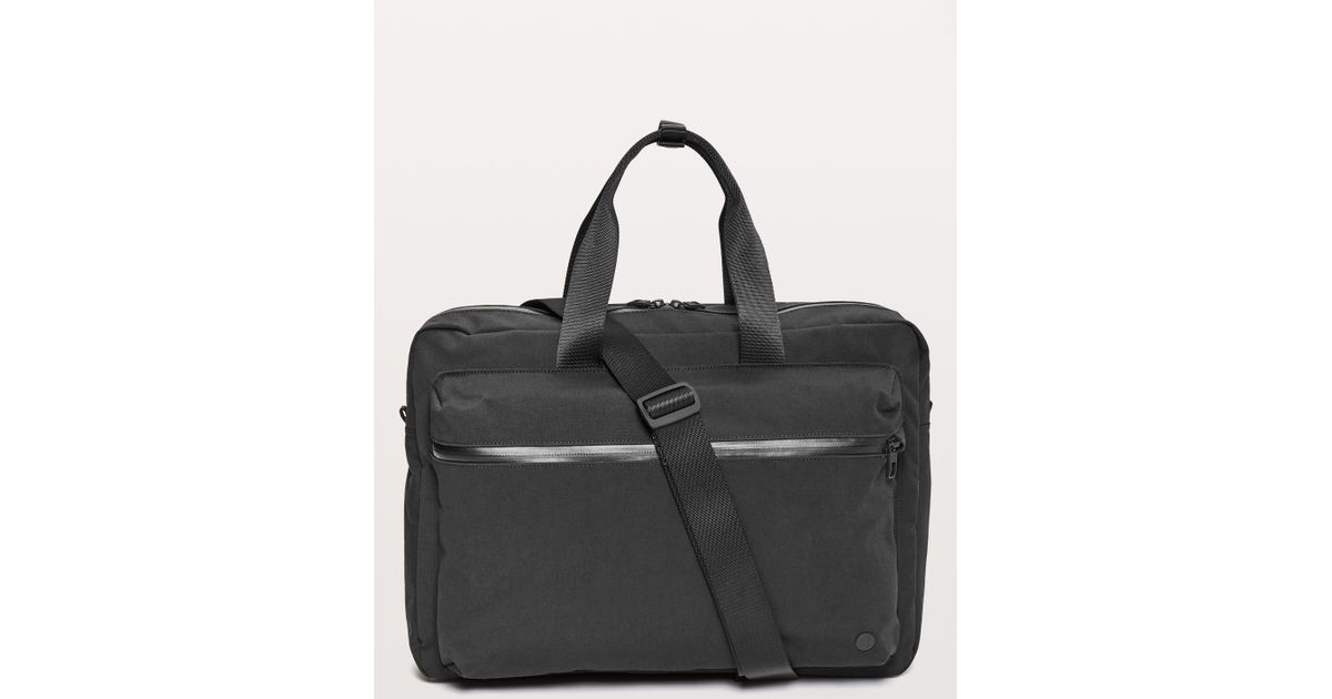 8748ca713f lululemon athletica Command The Day Commute Bag *19l in Black for Men - Lyst