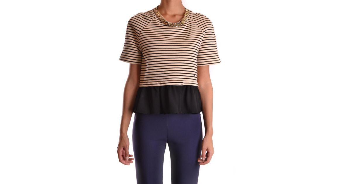 Franchi Lyst Elisabetta Sleeves Tshirt Short 7Yy6fbg