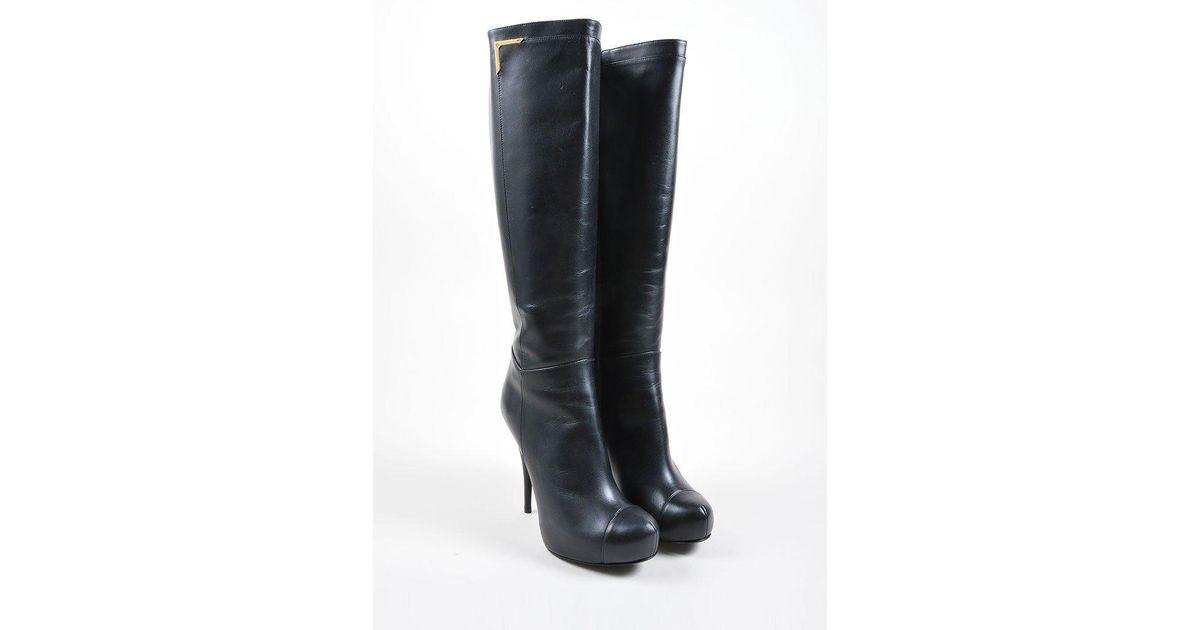 low price fee shipping cheap online Fendi Platform Knee Boots brand new unisex cheap price edos2rpF2