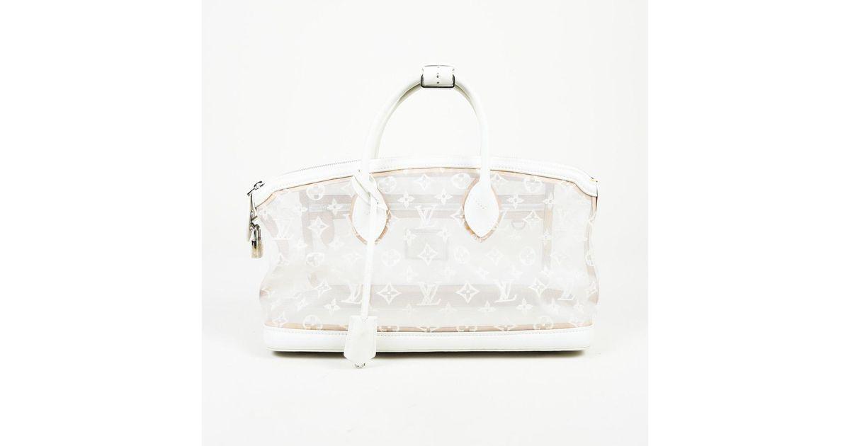 cf5144549d34 Lyst - Louis Vuitton Monogram Mesh