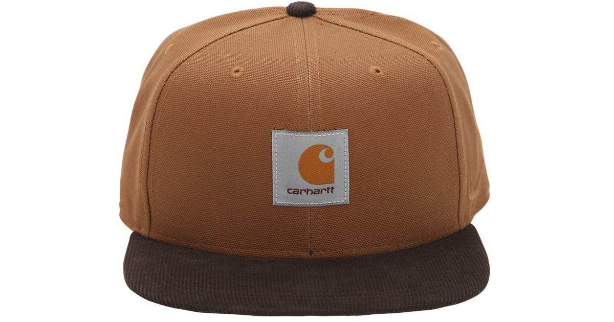 e83a7152350 ... sweden nike x carhartt pro cap in ale brown in brown for men lyst 5c295  1f337