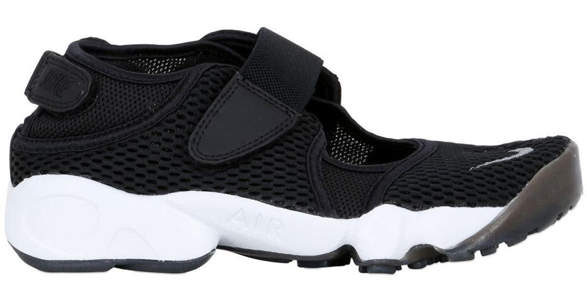 Lyst - Nike Air Rift Mesh Open Sneakers in Gray 650931712