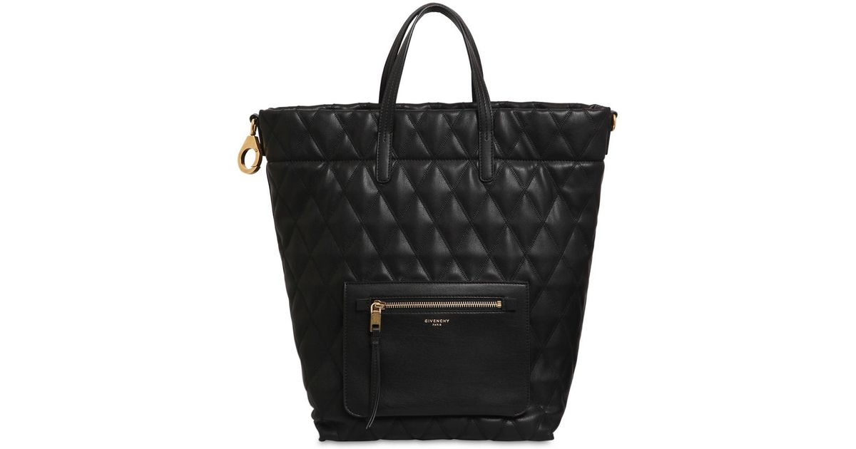 b4a255d12993 Givenchy Quilted Backpack in Black - Save 1% - Lyst
