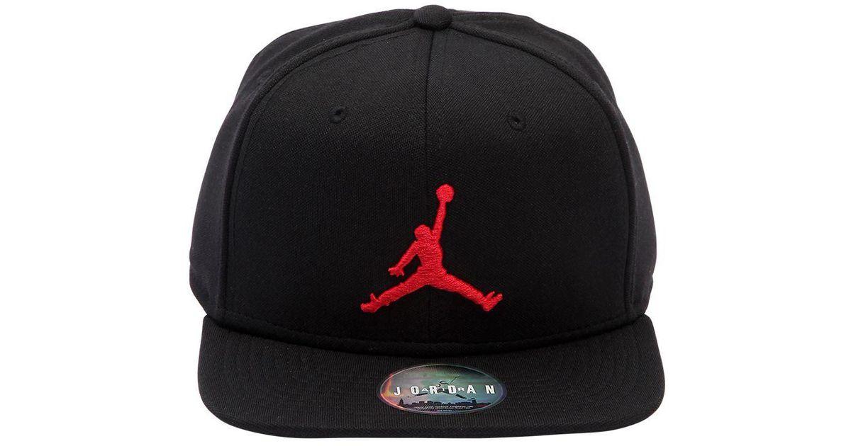 51f47f74000 ... new zealand nike air jordan jumpman hat in black for men lyst 42956  b98f5 ...