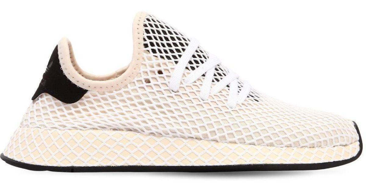 lyst adidas originals deerupt ultra leichtbau - sneakers in natürlichen