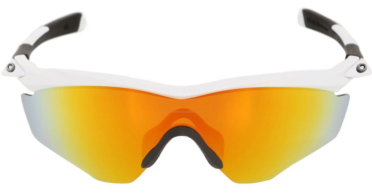 a7eb0b1d0b Lyst - Oakley M2 Frame Xl Fire Iridium Sunglasses in Metallic for Men