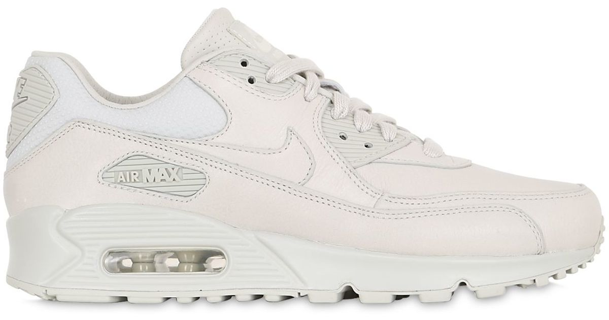 2c55dcb20a8b Lyst - Nike Air Max 90 Pinnacle Leather Sneakers in Pink