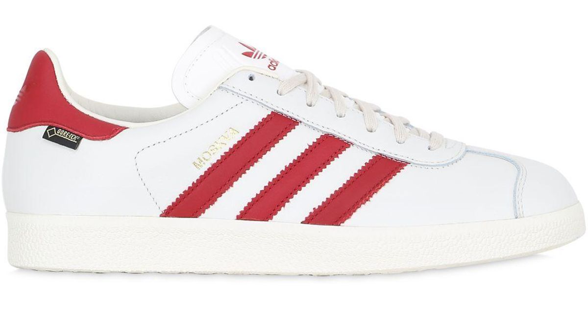 6f0ed23239408 Lyst - Adidas Originals Moscow Gazelle Gore-tex Sneakers in White for Men