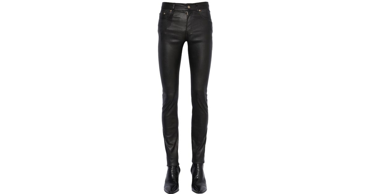 Cheap Sale Low Shipping Fee Big Sale Sale Online Slim-fit Flared Stretch-denim Jeans Saint Laurent Discount With Credit Card Latest Collections x1gQygyl