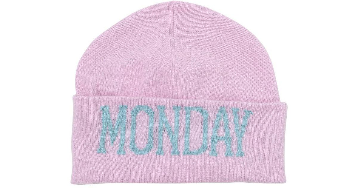 Wednesday beanie - Pink & Purple Alberta Ferretti mU9r13
