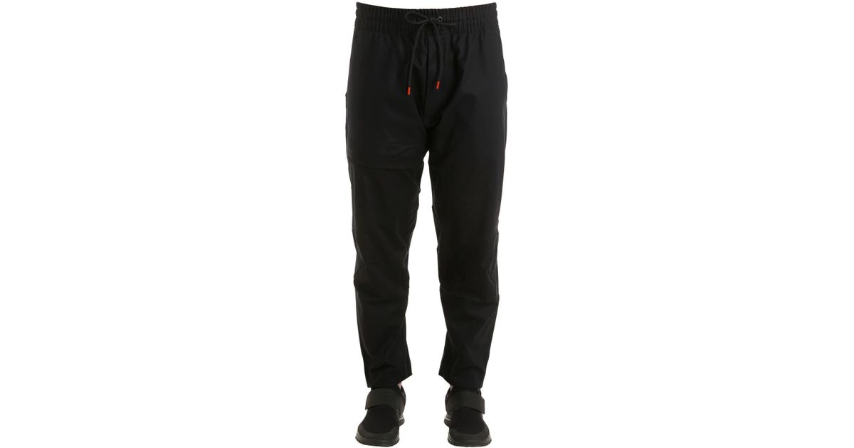74ab99f5dcad Lyst - Nike Nikelab Acg Cotton Pants in Black for Men