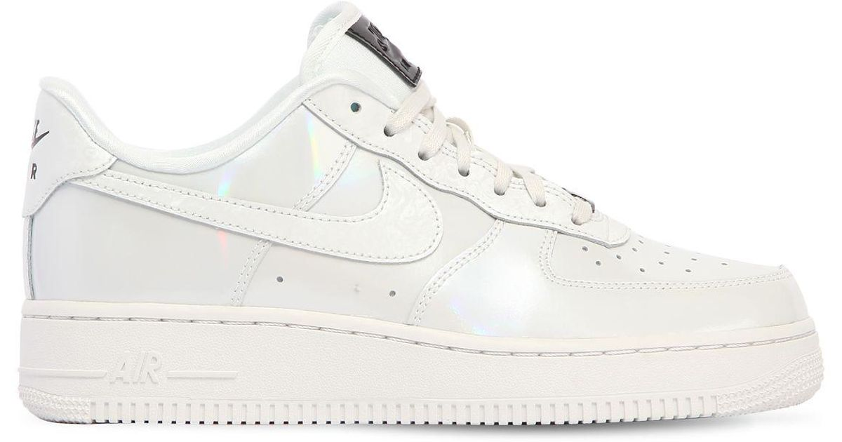 Lux Sneakers 07 Iridescent Lyst Force In Air 1 Nike White AqnwUF7w