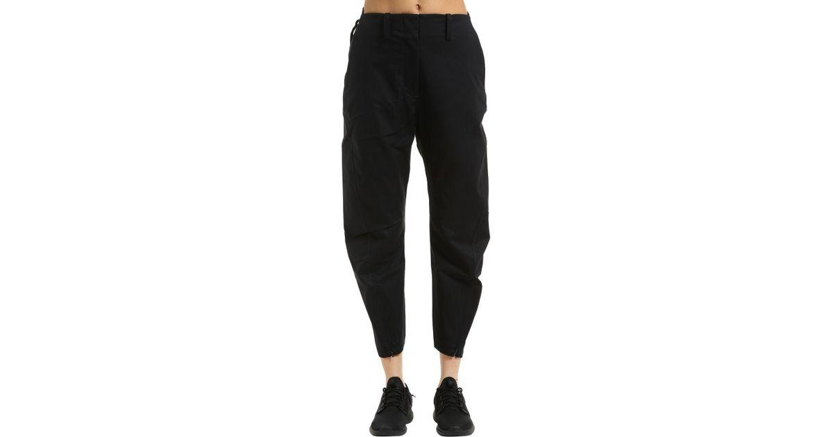 En Coton Noir Coloris Nikelab Pantalon Nike Lyst Acg Ybf7y6g