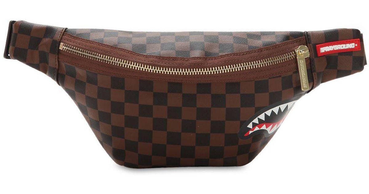 Lyst - Sprayground Sharks In Paris Cross Body Bag in Brown for Men 32fa3665b8