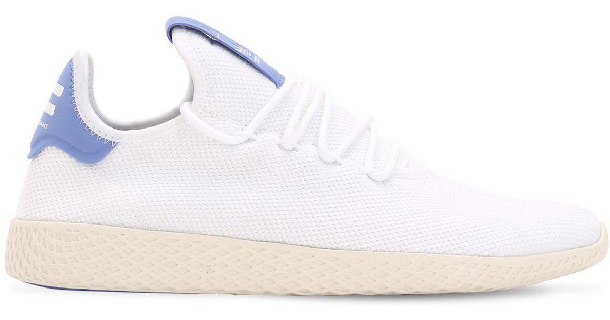 b1ab1c4c3f392 adidas Originals Pharrell Williams Knit Sneakers in White for Men - Lyst