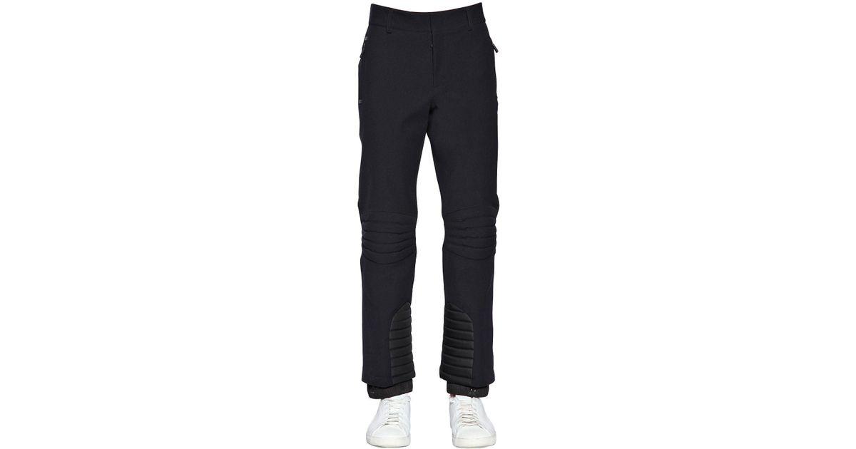 27661f9fea0a Lyst - Moncler Grenoble Reinforced Stretch Nylon Ski Pants in Black ...