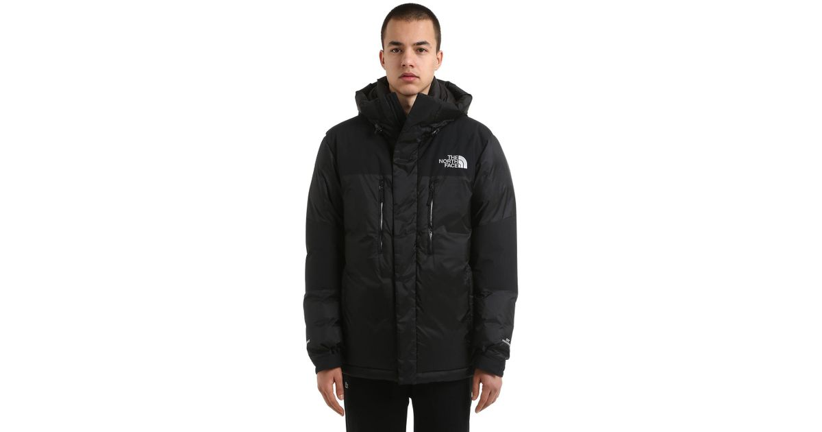 5205262646 The North Face Himalayan Windstopper Down Jacket in Black for Men - Lyst