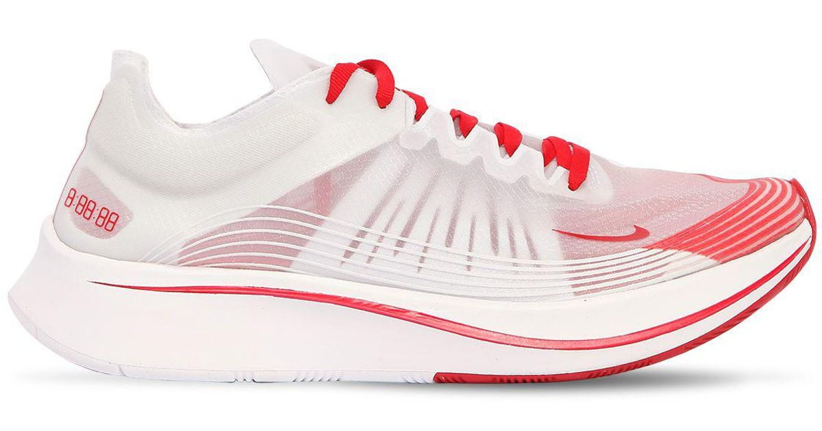 13e7f65b4f29 Nike Zoom Fly Sp Tokyo Running Sneakers in Red for Men - Lyst