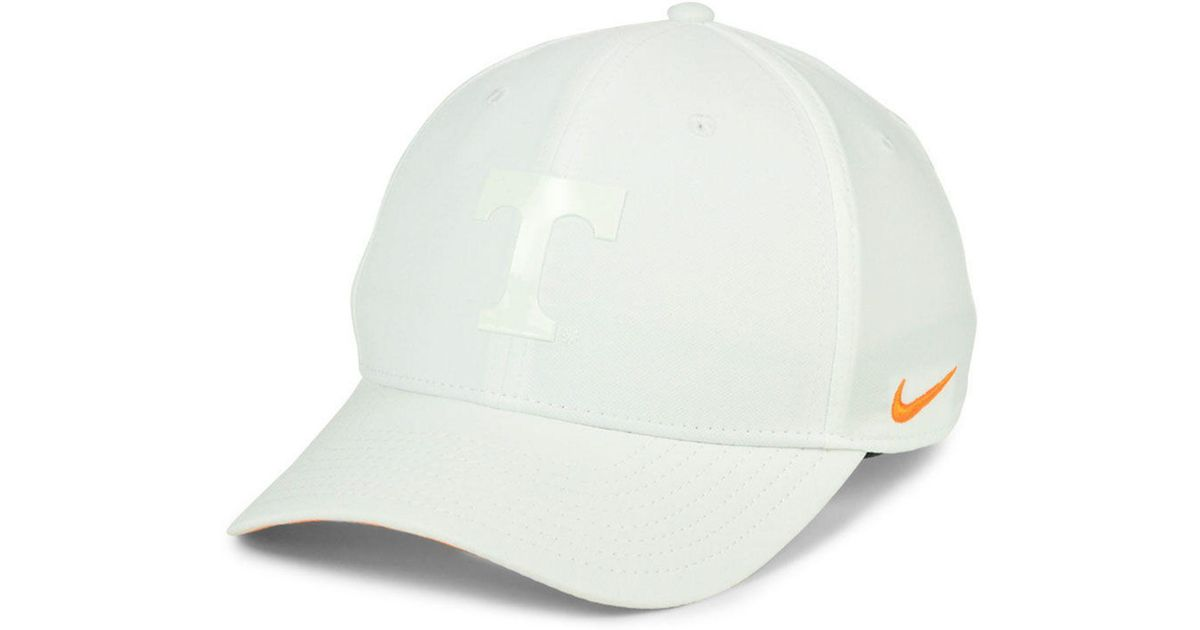 quality design 56919 20f0e Nike Tennessee Volunteers Col Cap in White for Men - Lyst