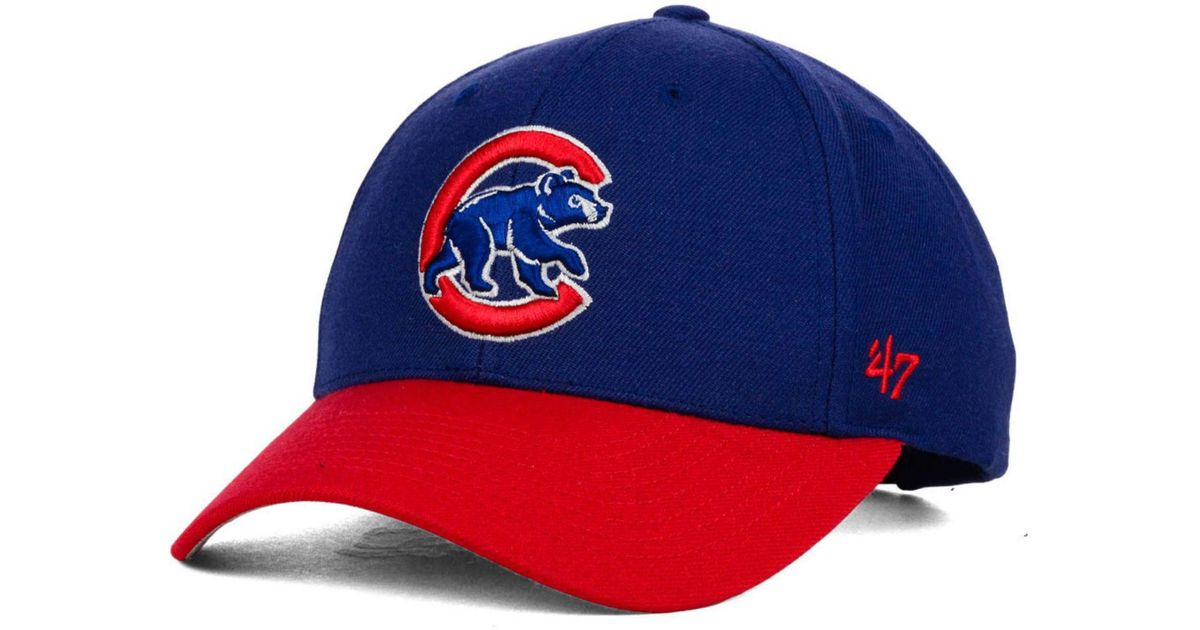 1e31c3b1d56d1 ... where can i buy lyst 47 brand chicago cubs mvp curved cap in blue for  men