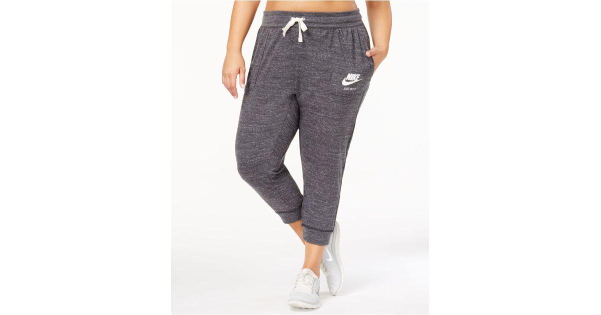 Lyst Nike Plus Size Gym Vintage Capri Pants